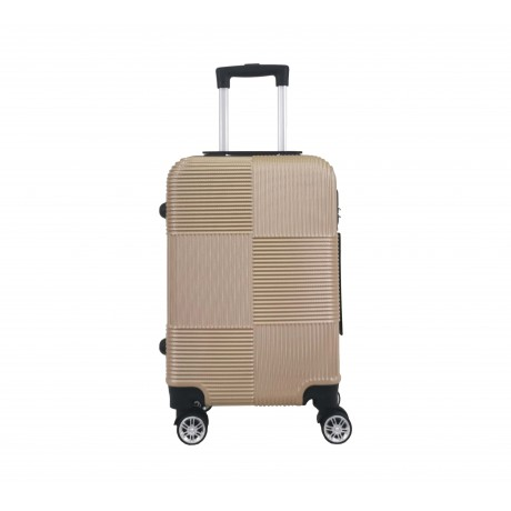 Valise cabine 4 roues 55cm ABS Chester