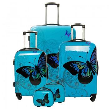 Set de 3 valises 4 roues...