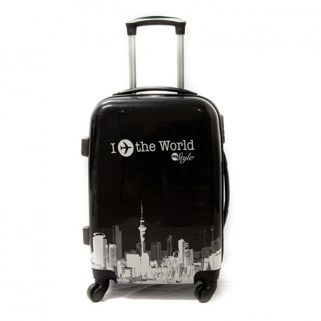 Valise cabine 4 roues 55cm semi-rigide - World - Trolley ADC